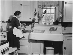 Woman Cooking in a Kitchen. | Flickr - Photo Sharing!