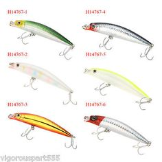 Diving hard #fishing lure minnow #crankbait #fishing tackle #treble hook w/ box,  View more on the LINK: http://www.zeppy.io/product/gb/2/161681066603/