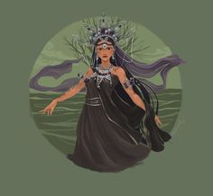 """pinoy-culture: """" squeegool: """" Magwayen - The goddess of the sea who is believed to take the kalag (soul) of the dead in Sulad (land of the dead). """" Magwayen is also one of the primordial deities for. Filipino Art, Filipino Culture, Filipino Quotes, Sacred Feminine, Divine Feminine, Mythological Creatures, Mythical Creatures, Philippine Mythology, Goddess Of The Sea"""