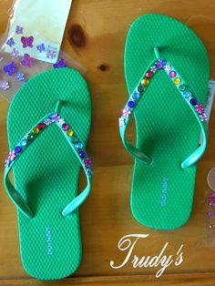 Flip Flop Decorating Party (from A Field[s] Day)