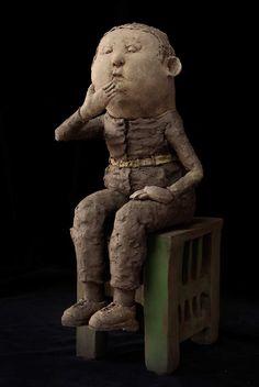 Art Sculpture, Sculptures, Legrand, Ceramic Art, Buddha, Ceramics, Statue, Artist, Ceramica