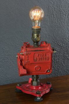 Industrial Fire Switch Lamp
