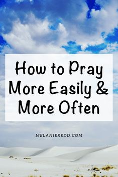 How's your prayer life? Would you like to pray more often and with less difficulty? Here are 37 simple ways you and I can pray more often and more easily. Prayer Verses, Bible Verses, Prayer Wall, Bible Notes, Prayer Times, Bible Prayers, God Prayer, Prayer Board, Daily Prayer