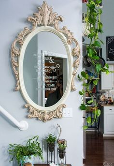 ornate mirror makeov