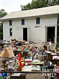 The World's Largest Yard Sale {Day One: Ohio}