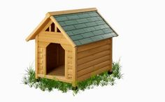 Alpine Lodge Dog House! Get yours here ➩➩      http://amzn.to/2pMYc3h