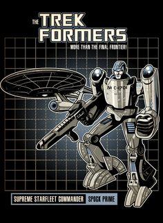 Spock Prime the Trek Former