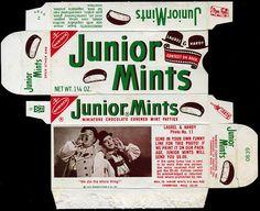 Nabisco - Junior Mints candy box - Laurel & Hardy photo contest - 1970's by JasonLiebig, via Flickr