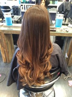 Beautiful ombre by gabby! #ombre #transformation #beautiful