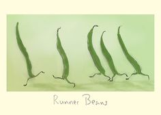 H51 Runner Beans by Julian Williams for Two Bad Mice cards