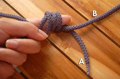 How to Make a Chinese Sliding Knot: 7 steps (with pictures)