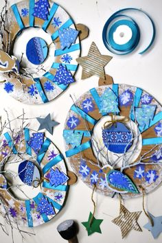 Christmas Crafts For Kids To Make, Christmas Activities For Kids, Fall Crafts, Kids Crafts, Art Lessons For Kids, Art For Kids, Art Therapy Projects, Winter Art Projects, Noel Christmas