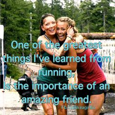 Running friends are the greatest