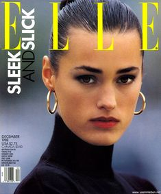 ELLE US 1988, Model: Yasmin Lebon