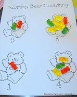 Freebie: Gummy Bear Activities