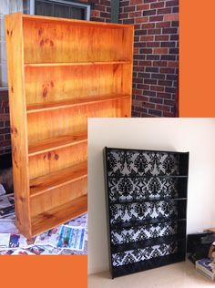 DIY+Bookcase+Renovation