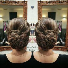 💙和髪💜 ネープシニヨンのアレンジです😉  長さとボリュームがあるお客様👍 アレンジいれさせてもらいました😘  #和髪  #和装 #和装ヘア  #ネープシニヨン #編み込み #ヘアセット #ヘアアレンジ  #着物 #hairstyles #Hairsalon #hairarrange  #hairset  #Welina #hitomiyanagida #myworks #お客様photo #祭りヘア