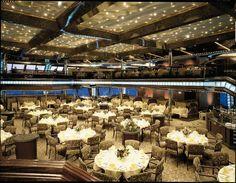 One of the many Ships Restaurants Carnival Destiny