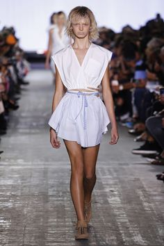 Alexander Wang | Ready-to-Wear Spring 2017 | Look 3