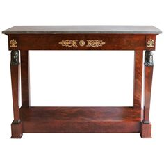 Shop console tables and other modern, antique and vintage tables from the world's best furniture dealers. Table Furniture, Antique Furniture, Cool Furniture, Modern Furniture, Taste And See, Modern Console Tables, French Empire, Empire Style, Objet D'art