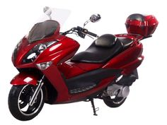 "SCO026 150cc Scooter with Automatic Transmission, Front Disc/Rear Drum Brake, 13"" Tires"