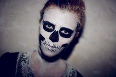 Skull / Skeleton Halloween Makeup II