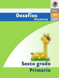RETOS MATEMÁTICOS 6° GRADO by Ness D Celis via slideshare Public, Language, Author, Teacher, Letters, Education, Learning, School, Books