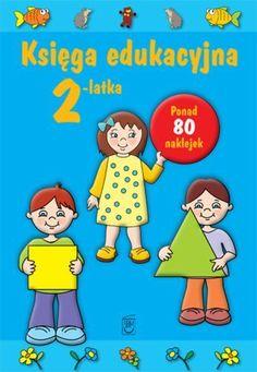 Książki z zadaniami dla 3 latków (na zdjęciu tylko przykład), koniecznie z naklejkami:)