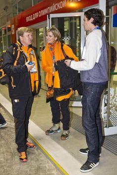 De koning was in Sotsji en dat hebben we geweten. Bij elke schaatswedstrijd zagen we Willem-Alexander en Máxima op de tribune soms nog harder juichen dan de sporters zelf.