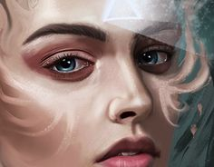 """Check out new work on my @Behance portfolio: """"the Queen digital painting."""" http://be.net/gallery/53601507/the-Queen-digital-painting"""
