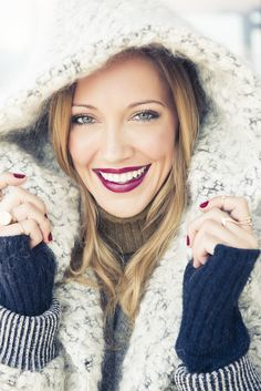 Behind the Smile with Katie Cassidy // Elle Magazine and Crest 3D White // Style Insider