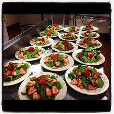 Strawberry Spinach Salads!