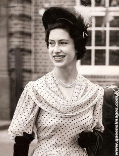 Princess Margaret. I see William in her.