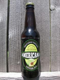 Americana Ginger Ale from Homer Soda