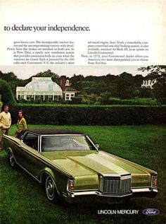 1970 Lincoln Continental & Continental Mark III Ad, Pg. 2 #classiccars #CTauto