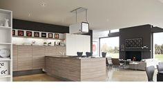 Record è Cucine New People elm Kitchen #elm #wood #design