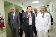 Javier Cabo, en la inauguración del nuevo Centro Cardiovascular del HOMS