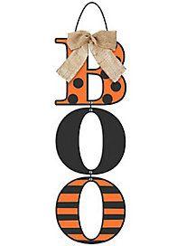Burlap Boo Sign - Decoration