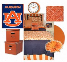 Auburn Dorm Room Bedding and Dorm Decor Ideas REMINDS ME OF KELSEY AGAR!