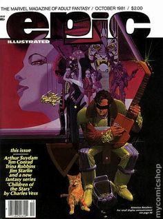 Epic Illustrated (1980 Magazine) 8