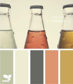 Color palette inspiration from Design Seeds, for living room. Colour Pallette, Color Palate, Colour Schemes, Color Patterns, Color Combinations, Spring Color Palette, Design Seeds, Pantone, Palette Pastel
