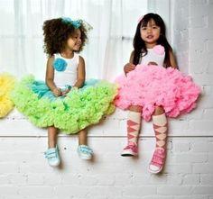 Etsy,Dream Spunkids shop,Candy Pink Sweetheart Pettiskirts by Dreamspun