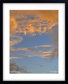 auckland NZ photo print souvenirs clouds