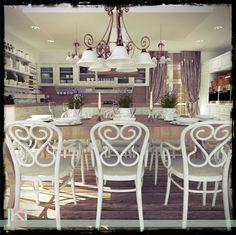 NAVRH VINTAGE KUCHYNE ...I love vintage :) Table Settings, Vintage Fashion, Chair, House, Furniture, Home Decor, Style, Swag, Decoration Home