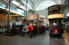 The London Transport Museum - The kidlet was nine when we visited. I'ld say geared more for age 7 and under unless you child has a particular interest transport vehicles.