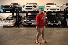 A incrível garagem de Paul Walker