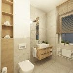 08_parter_lazienka Alcove, Toilet, Bathtub, Bathroom, Home Decor, Projects, Standing Bath, Washroom, Flush Toilet