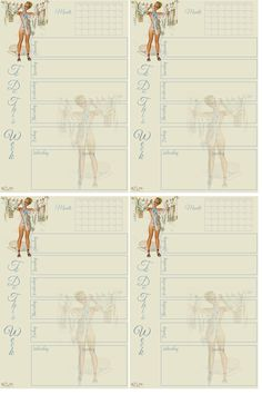 To Do This Week Journal Card with Calendar  Free-download