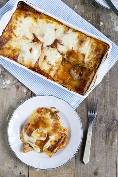 Lasagne BBQ Chicken