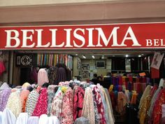 Bellisima: Tutuban Mall in Divisoria/China Town. Up the escalator and to the left. They have Thai Silk slightly cheaper than in the malls.